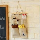 1 x House Door Wall Hanging Organizer Storage Bag Holder Hanger(BICP048865)
