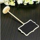 Blackboard Chalkboard Wordpad Note Message Board Holder Clip Wedding Decor(BICP048563)