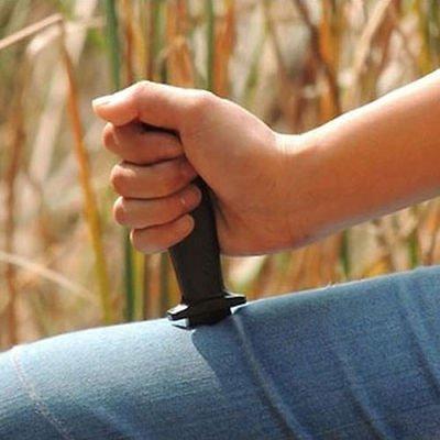 Comedy Magic Plastic Retractable Dagger Joke Prank Props Knife Scary Trick Dealsbest