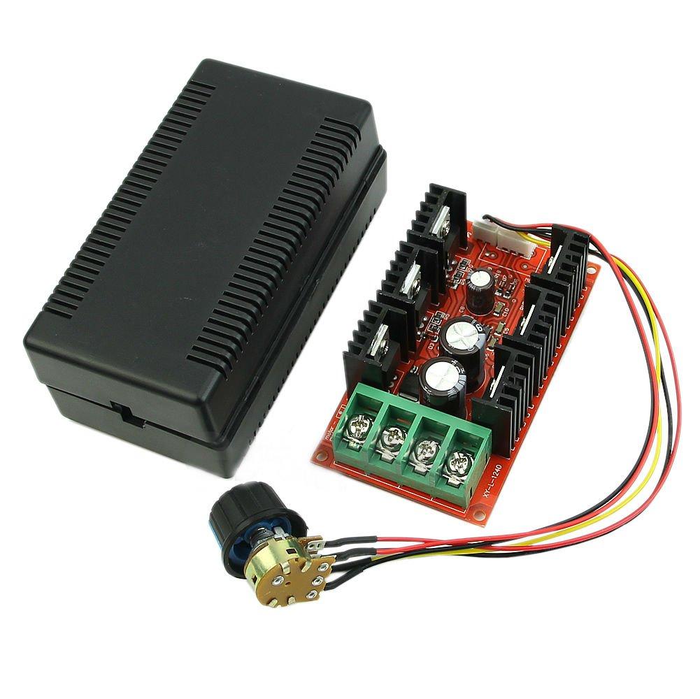 12V 24V 48V 2000W MAX 10-50V 40A DC Motor Speed Control PWM HHO RC Controller Dealsbest