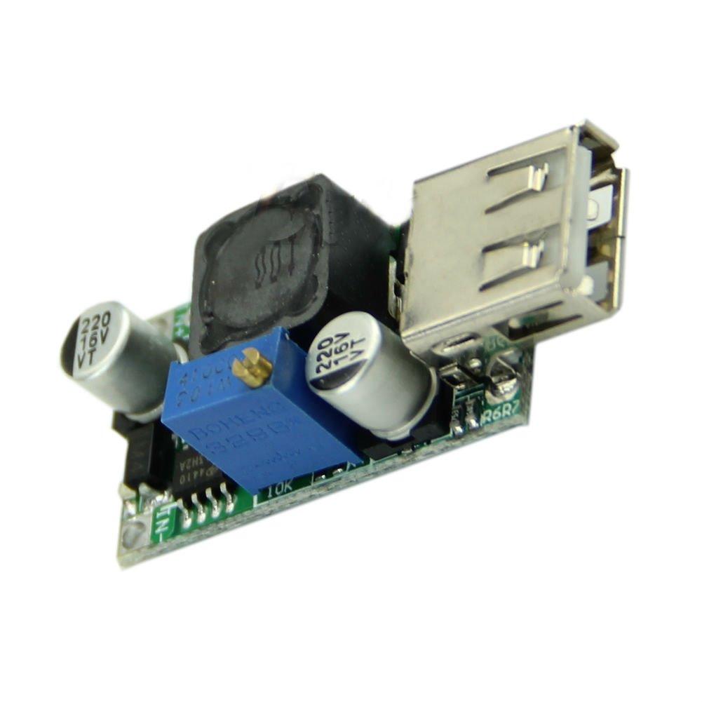 DC-DC Boost Converter 3V Up 5V to 9V 2A USB Output Voltage Step-up Module Dealsbest