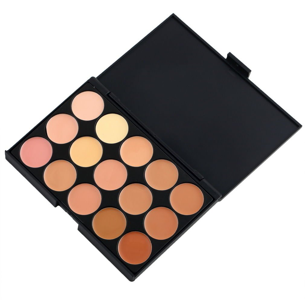 15 Colors Makeup Neutral Concealer Palette Set Camouflage Cream Cosmetic DB