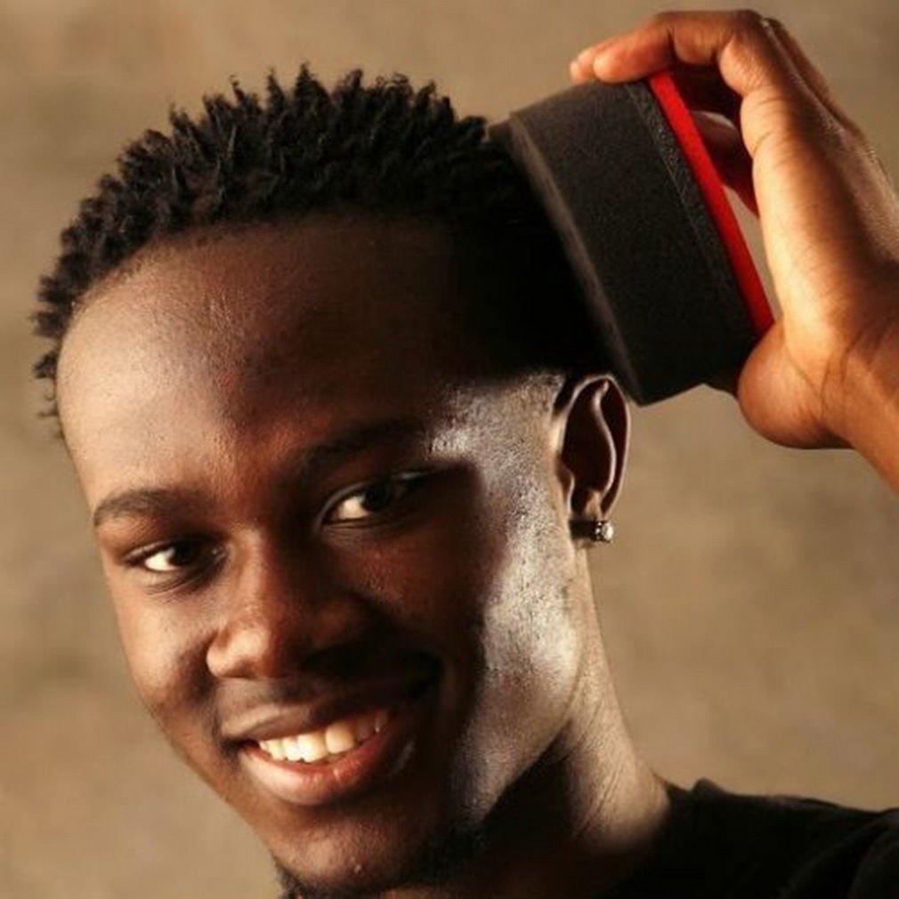 Wave Barber Hair Brush Sponge for Dreads Afro Locs Twist Curls Coil Magic Tool