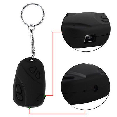 Mini 808 Car Key Chain Micro Camera HD 720P H.264 Pocket Camcorder
