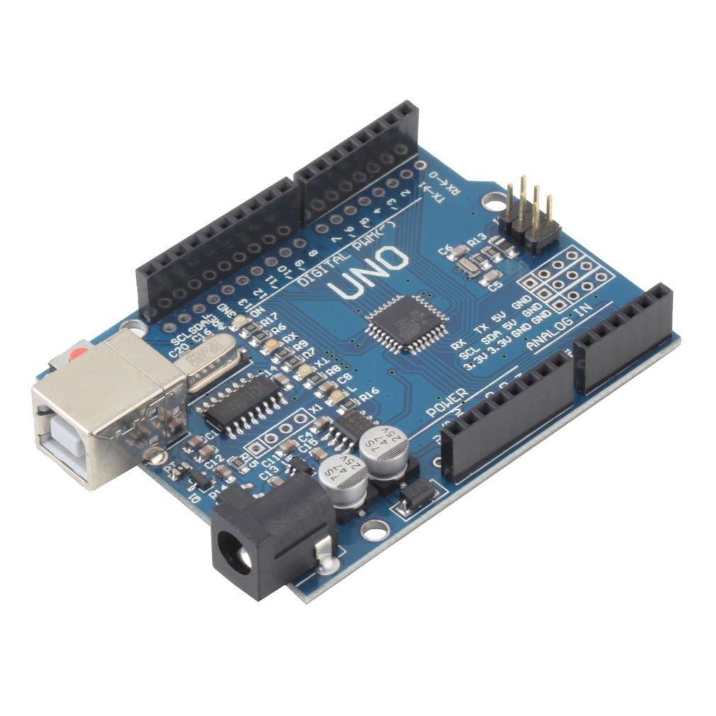 NEW ATmega328P CH340G UNO R3 Board & USB Cable +7 Gilded Pin for Arduino DIY