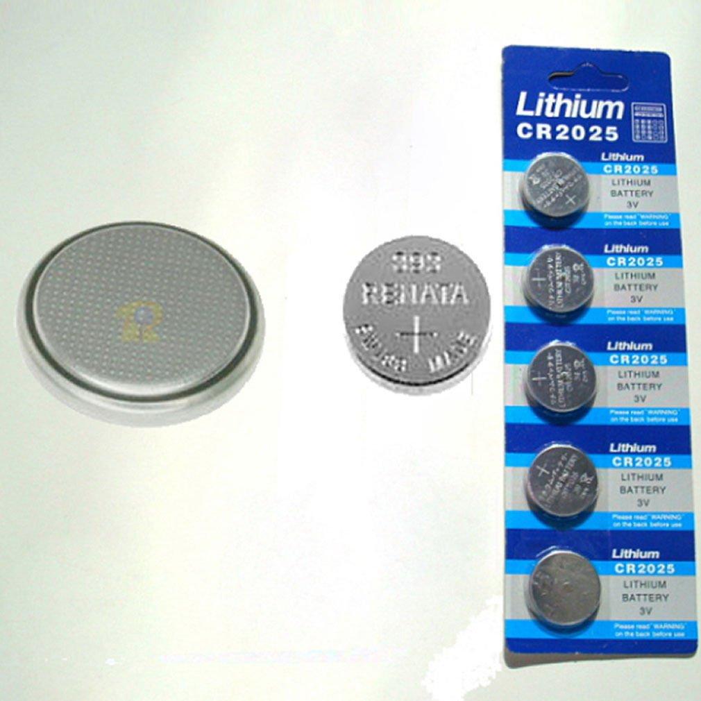 5x CR2025 CR 2025 DL2025 BR 2025 3 Volt Button Cell Battery 3V SCA-1682 DB