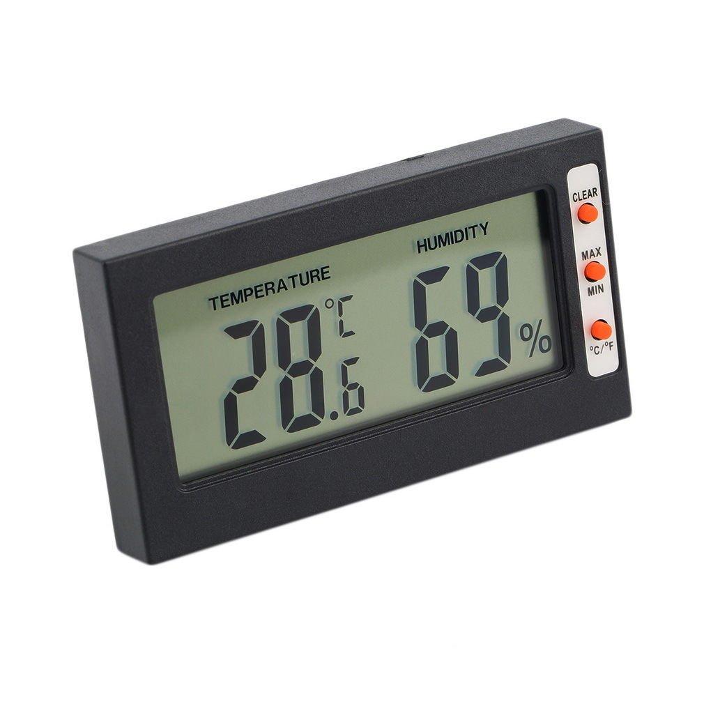 Digital LCD Thermometer Hygrometer Temperature Humidity Meter Gauge DB