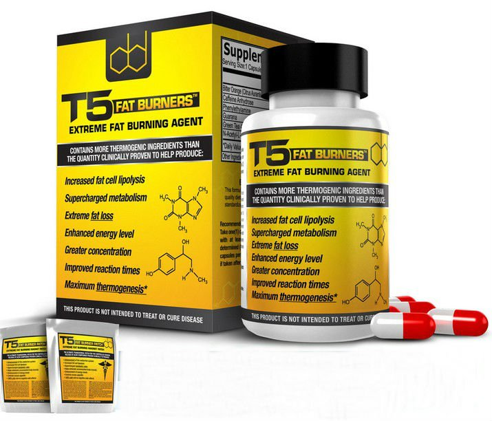 T5 FAT BURNERS CAPSULES -STRONGEST LEGAL SLIMMING / DIET & WEIGHT LOSS PILLS DB