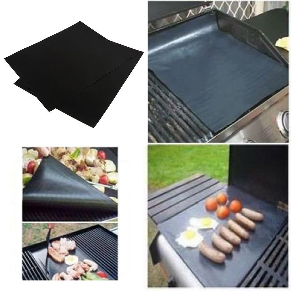 BBQ GRILL MAT - As Seen On TV! non-stick Make Grilling Easy! (2 Mats Per Pack) DB
