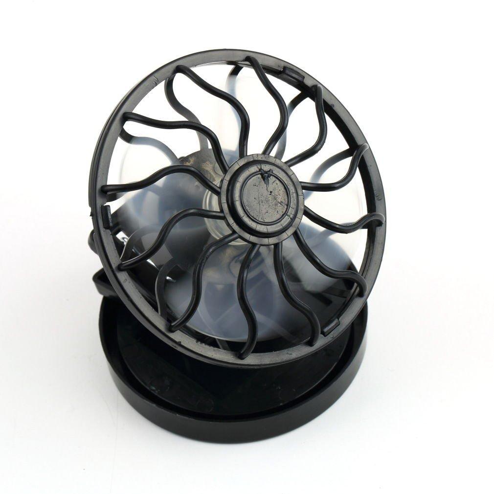 Energy saving Clip-on Solar Cell Fan Sun Power energy Panel Cooling DB