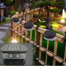 Green Outdoor LED Solar Power Flood Night Light Garden Path Household Decor Lamps DB