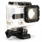 Clear Waterproof Dive Housing Case Skeleton W/ Lens For Gopro Hero 3 3+ 4 Camera db