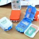 1 Pcs Portable Mini Sort Folding Vitamin Medicine Drug Container Pill Box Storage Cases