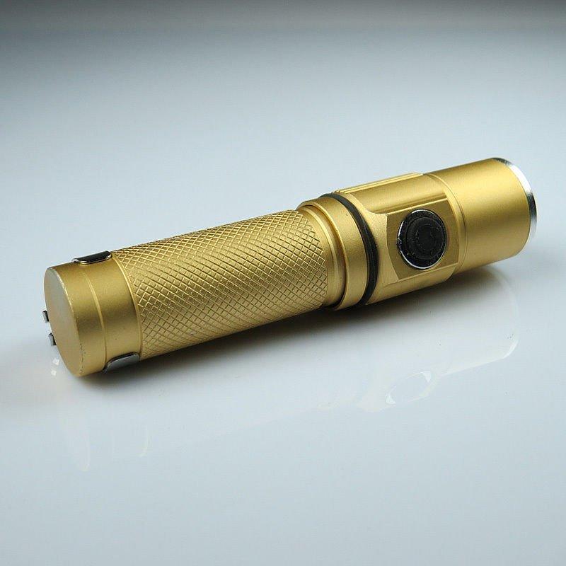 Mini 1000LM 1000Lumen Waterproof CREE LED Flashlight Torch Light Lamp 14500 Batt DB