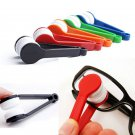 5Pc Glasses Sunglasses Eyeglass Spectacles Cleaner Cleaning Brush Wiper Wipe Kit DB