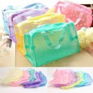 2 Pcs Travel Wash Toothbrush Pouch Bag Organizer Portable Makeup Cosmetic Toiletry DB