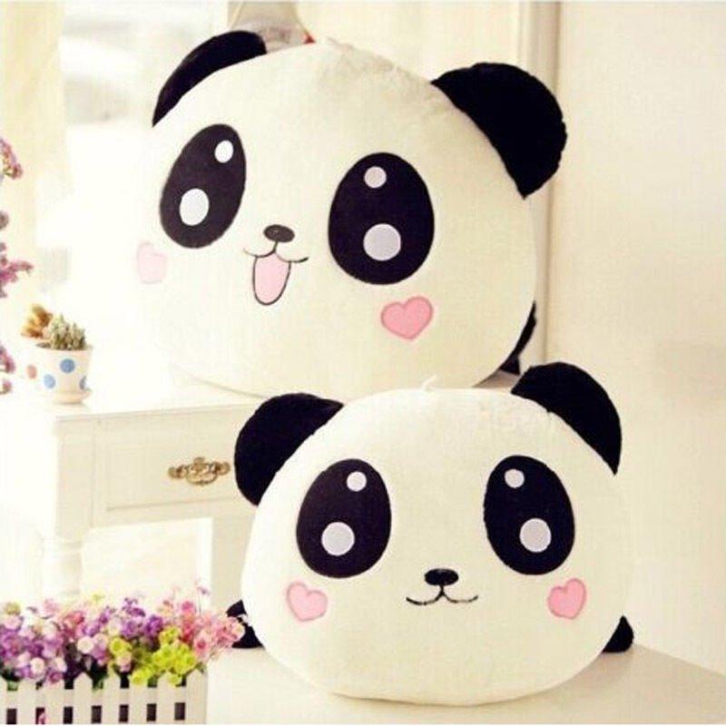 "Baby Pillow Plush Doll Toy Stuffed Animal Panda Pillow Bolster Gift 20cm 8"" DB"