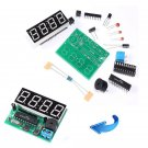 C51 4 Bits Digit Electronic Digital Clock LED Production DIY Kit Parts DB
