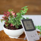 Digital LCD Indoor/Outdoor Thermometer Hygrometer Temperature Humidity Meter DB
