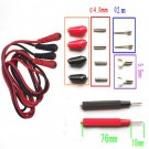 1Set 16Pcs Multifunction Digital Multimeter Probe Test Lead Cable Alligator Clip DB
