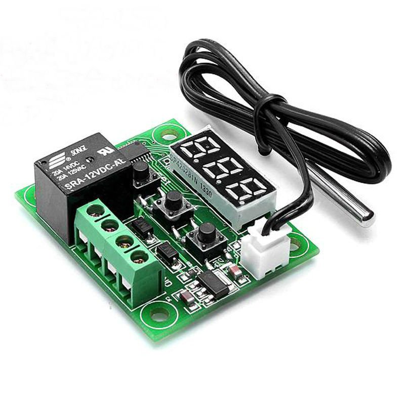 -50-110°C Temperature Control Switch DC 12V Heat Cool Temp Thermostat gh