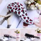 Red Leopard Magic Tangle Detangling Comb Shower Hair Brush Salon Comb db