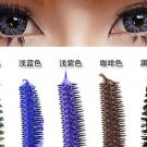 Coffee Mascara Waterproof Eye Make Up Eyelash Brush Head 3D FIBER One Pcs