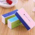 5 Pcs Nail Art Manicure 4 Way Shiner Buffer Buffing Block Sanding File  db