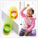 Plastic Toy Magic Slinky Glow-in-the-dark Children Classic Toy db