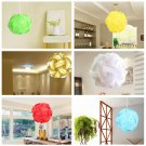 30pcs/Lamp Shade Elements Puzzle Jigsaw Light Lamp Shade Ceiling Lampshade Size S Dark Blue Color