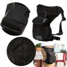 Men Racing Drop Leg Bag Motorcycle Outdoor Bike Cycling Thigh Tactical Bag Black