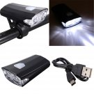 Out Doors USB Rechargeable Cycling Bike Bicycle LED Front Head Rear Light Headlamp 3 Modes db