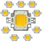 10pc 10W Warm White High Power LED Beads Flood light DIY Lamp SMD Chip DC 9-12V db