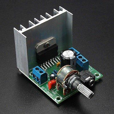 Version B TDA7297 2*15W Digital Audio Amplifier Board Dual-Channel AC/DC 12V db