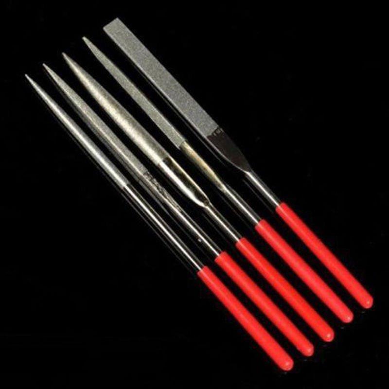 Diamond Needle File Set Sharpening 3X140mm x 5pcs  db