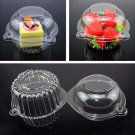 20pcs/set Plastic Single Cupcake Muffin Case Pods Domes Cup Cake Boxes Container db