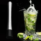 Cocktail Muddler Bar Mixed Drink Mojito Barware Mix Stainless Steel DIY