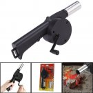 Outdoor Hand Crank Barbecue Fan Air Blower Cooking BBQ Briquettes db