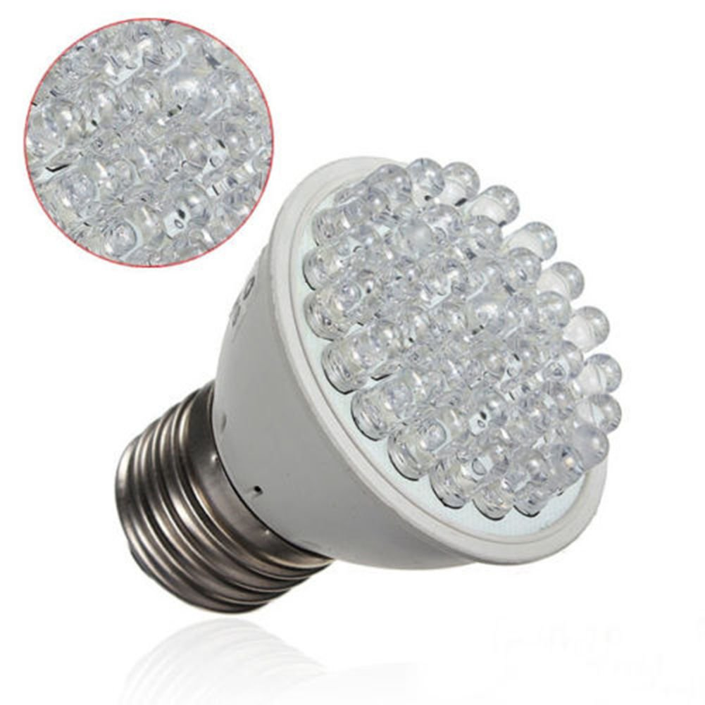 E27 38 LED 1.9W Red Blue Plant Grow Light Bulb Indoor Garden Hydroponic Lamp 110V