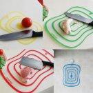 1 x PP Flexible Chopping Cutting Board Mat Random Color