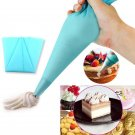 2 x Silicone Icing Piping Cream Pastry Bag Cake Decorating DIY Tool db