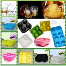 Silicon Ice Cube Ball Mold Whiskey Tray Round Maker Sphere Mould For Party Bar 1 Pcs