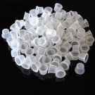 100pcs High Quality Plastic Tattoo Ink Cups Caps Tattoo Supplies Size S