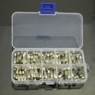 5x20mm Quick Blow Glass Tube Fuse Assorted Kit Fast-blow Glass Fuses 100pcs db