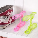 Removable Shoe Rack Home Organizer Shoe Care Tree Space-saving Anti-deformation Random Color One Pcs