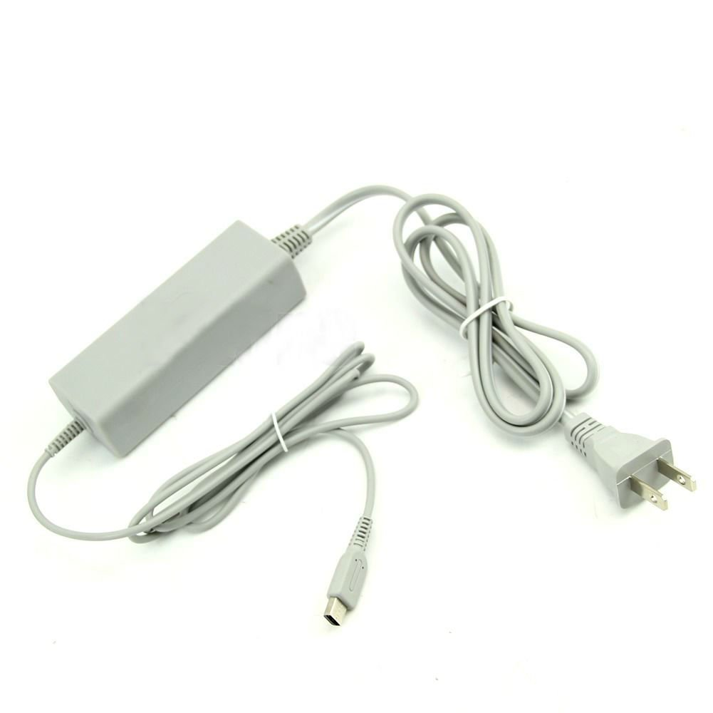 US Charging AC Adapter Cable Interchangeable Power For Nintendo Wii U GamePad db