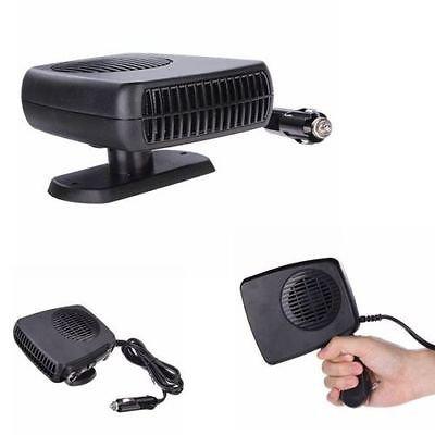 12V 2 in 1 Car Portable Ceramic Heating Cooling Heater Fan Defroster Demister  db