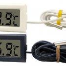 1 Pcs Digital LCD Thermometer for Refrigerator Fridge Freezer Temperature -50~110°c  Black  db