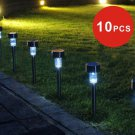 10X Solar LED Garden Lamp Spot Light Party Path Outdoor Spotlight Lawn Landscape db