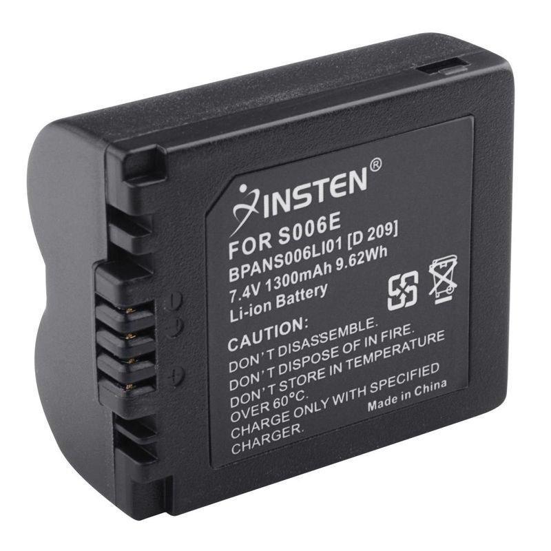 2 Battery For Panasonic Lumix CGA-S006E CGA-S006A/1B DMW-BMA7 DMC-FZ50 FZ30 FZ28 db